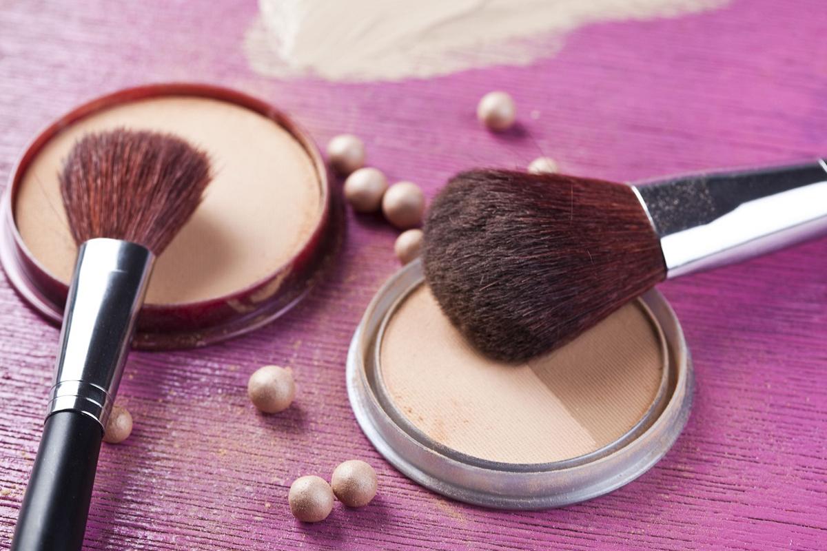 Foundation og makeup børster