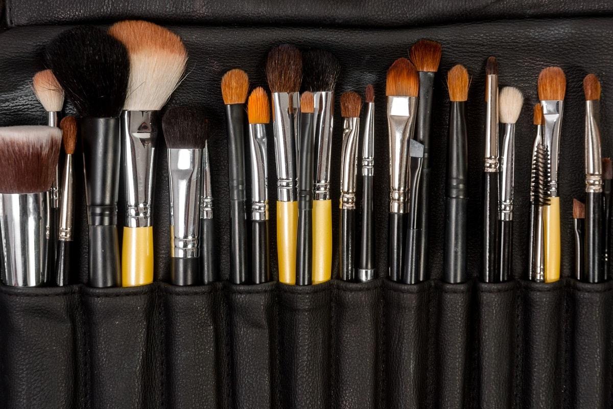 Naturlige makeup børster og pensler
