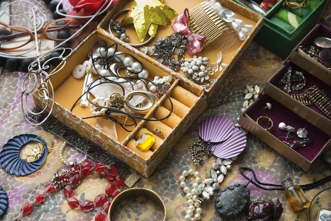 Rodede smykker