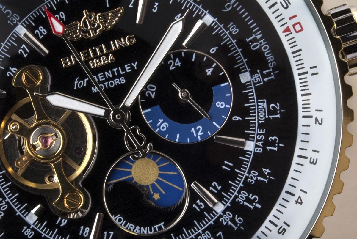 Urskive på et lækkert ur