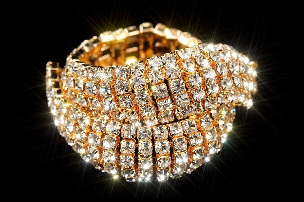 Armbånd med diamanter