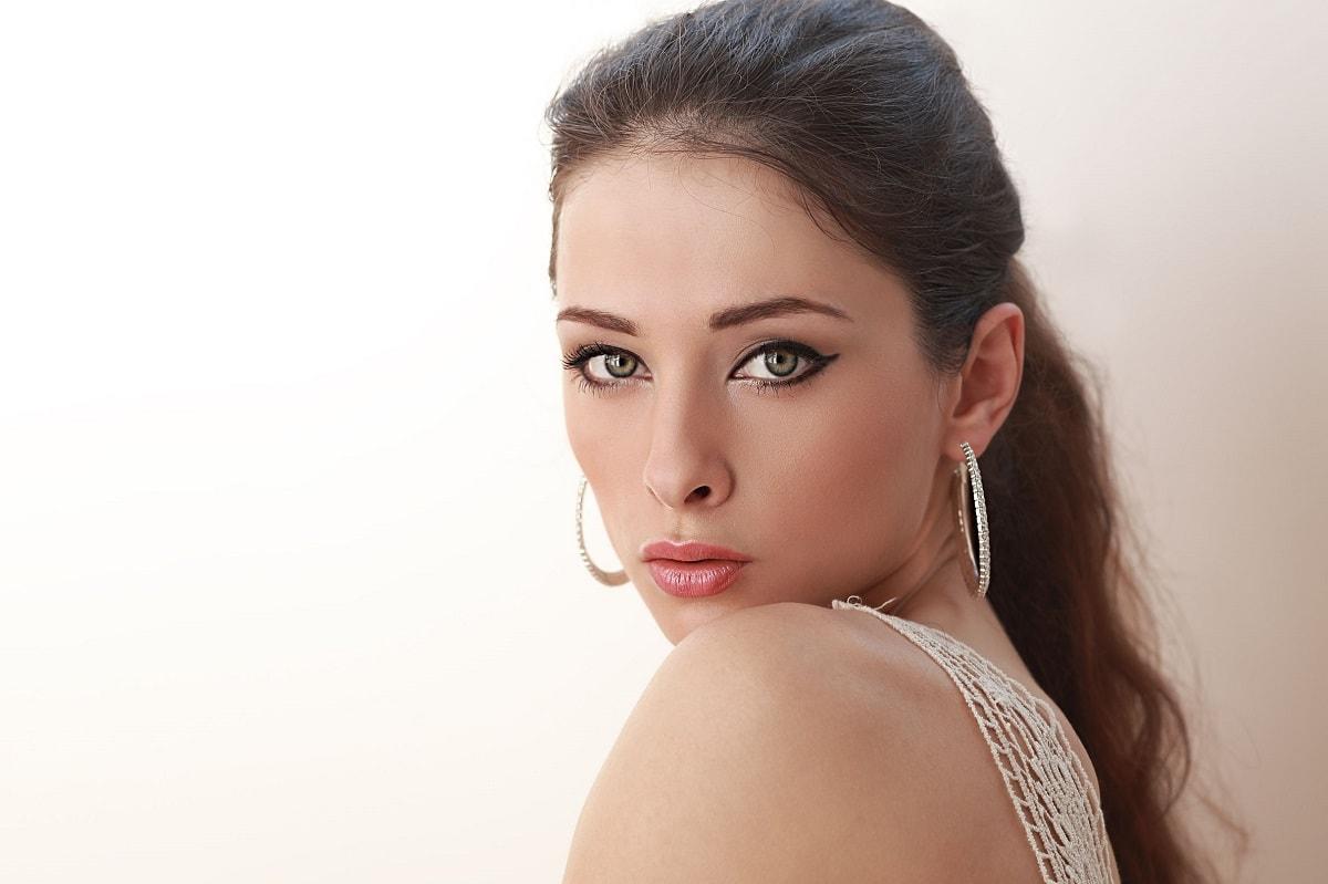 Smukke øjne og øjenvipper