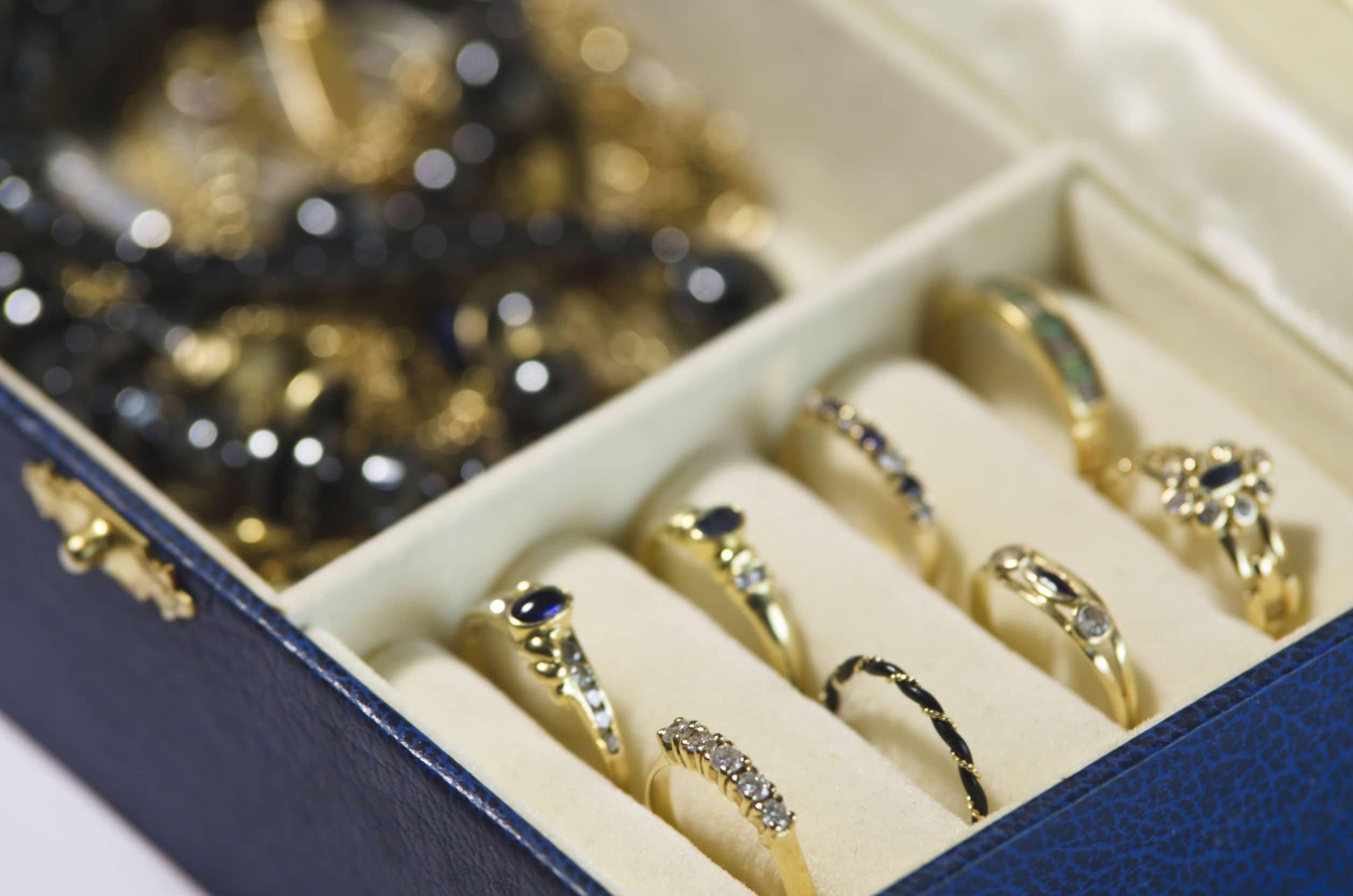 Smykkeskrin med ringe