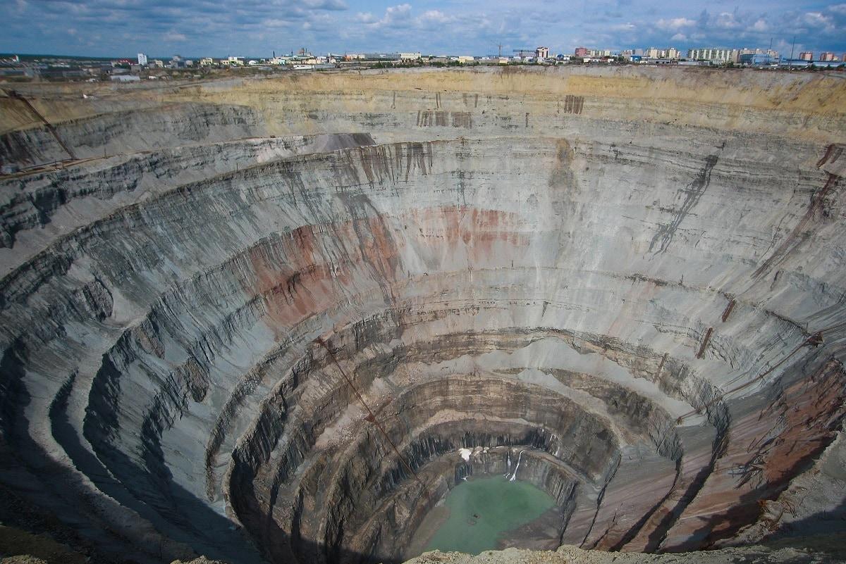 Stor diamantmine