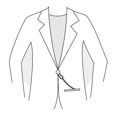 Lommeur i jakke