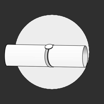 Mål ringstørrelse med papir 1