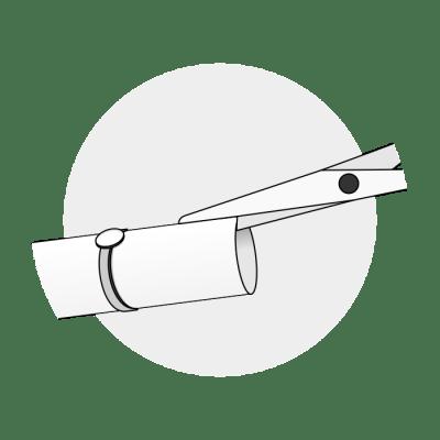 Mål ringstørrelse med papir 2