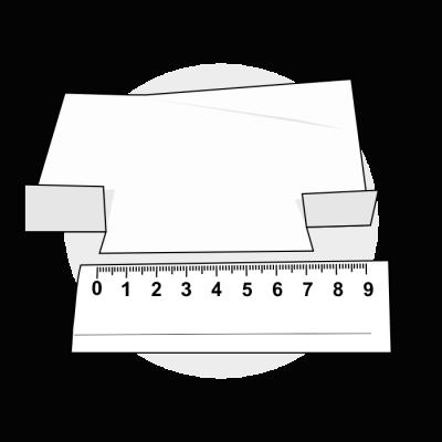 Mål ringstørrelse med papir 3