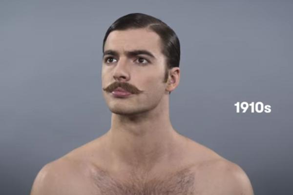 Præcis hvordan mænd har skulle se ud de sidste 100 år