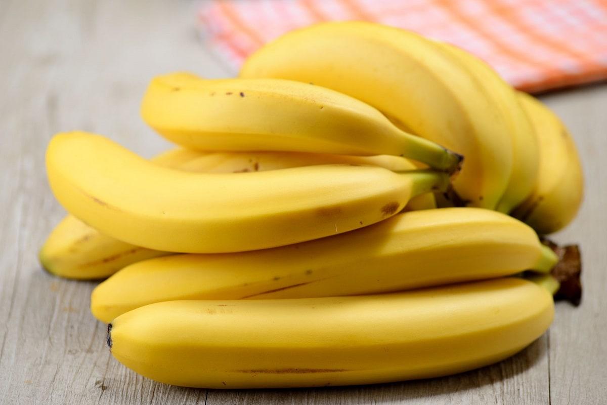 En bunke bananer
