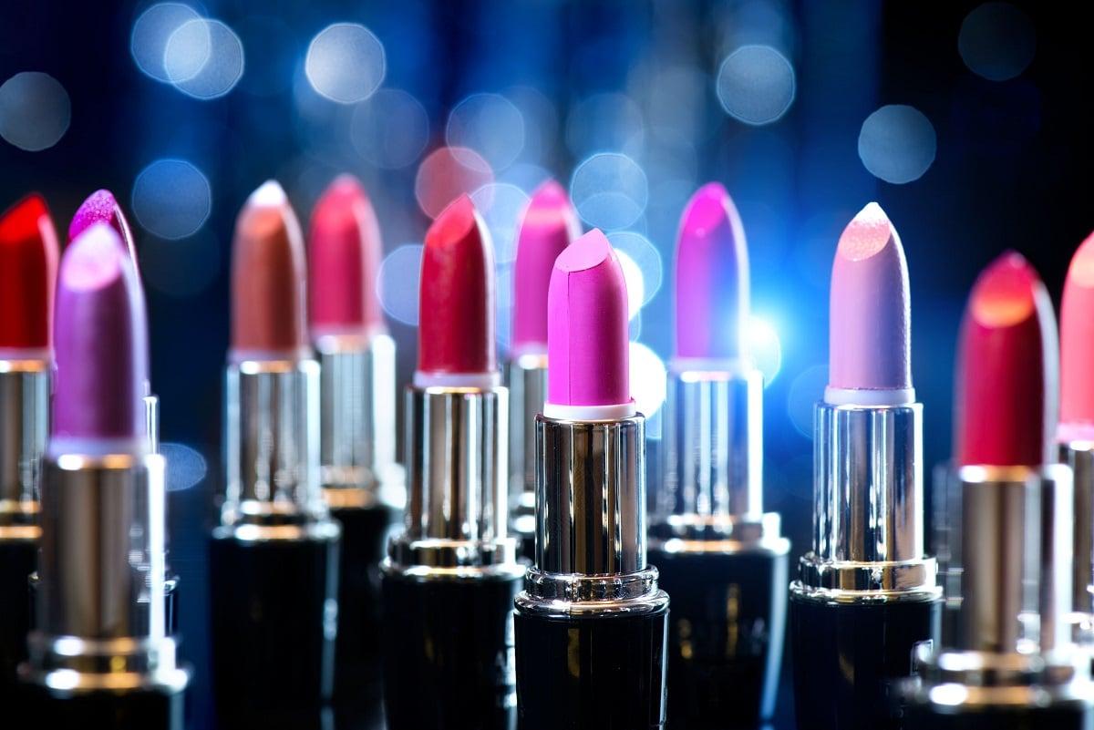 Forskellige læbestifte