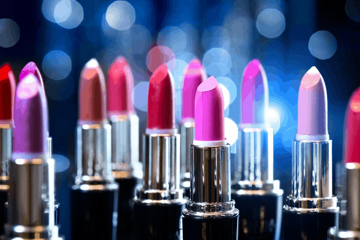 Forskellige læbestifter