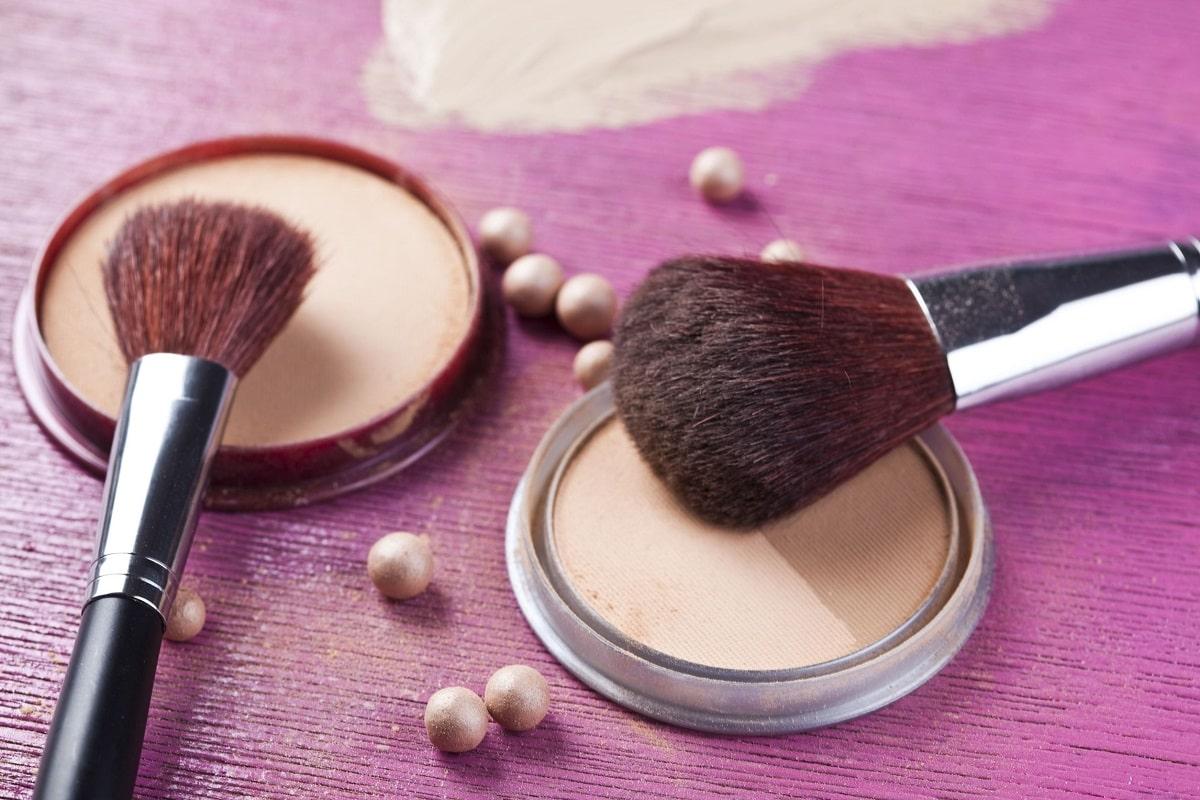 Makeup og makeup børster