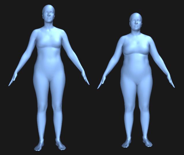 Plus size model vs. almindelig kvinde