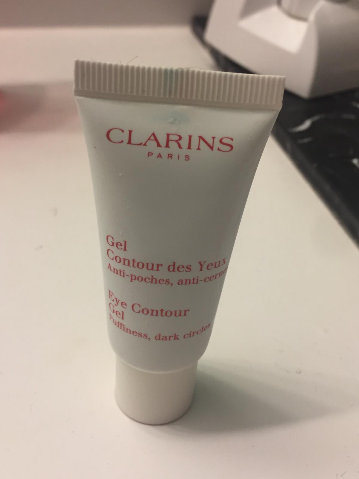Clarins Eye Contour Gel bagside