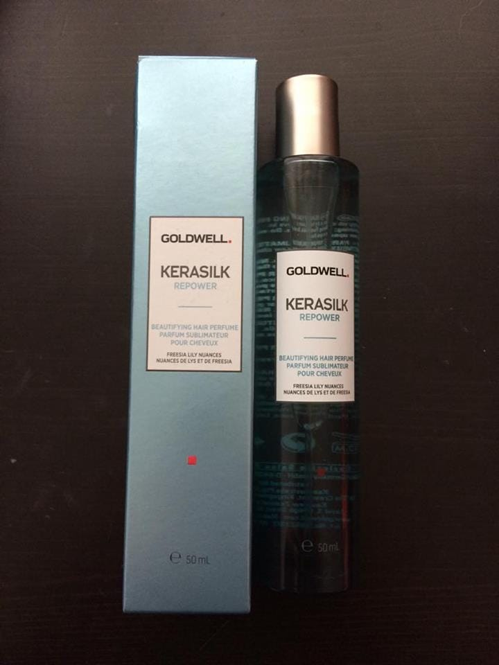 Goldwell Kerasilk Repower Hair Perfume åben