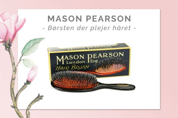 Mason Pearson: Fantastiske børster med vildsvinehår
