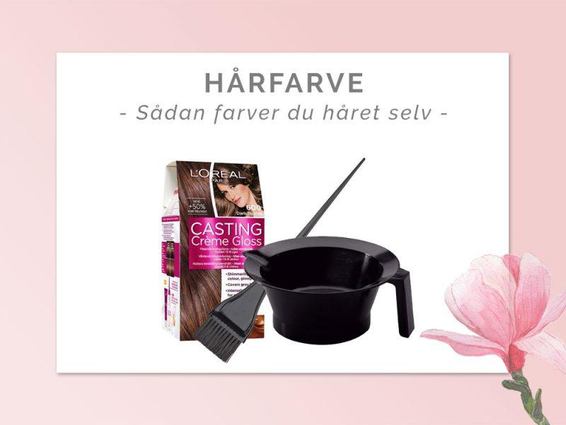 hårfarve guide - hjemmefarve