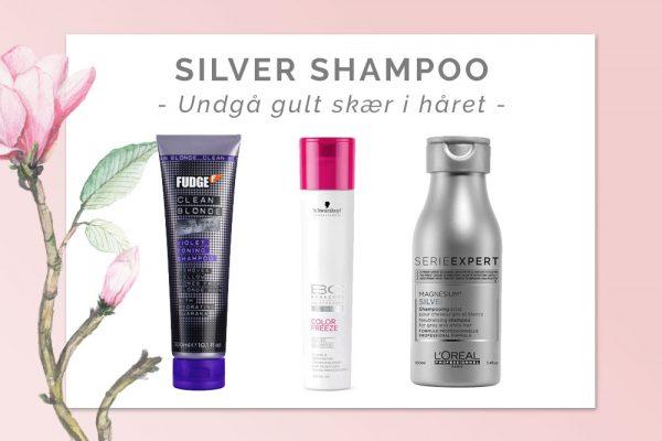 Silver shampoo: Fjern gult skær i blond hår
