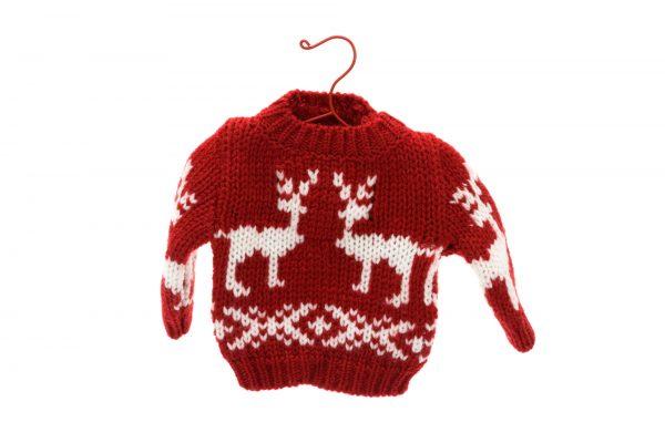 Mikro julesweater til pynt