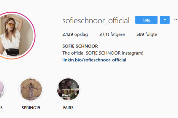 Sofie Schnoor – modetøj i rå og smukke designs fra det danske brand
